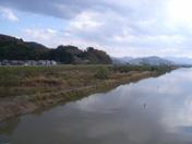 堀川橋上下流高水敷掘削工事