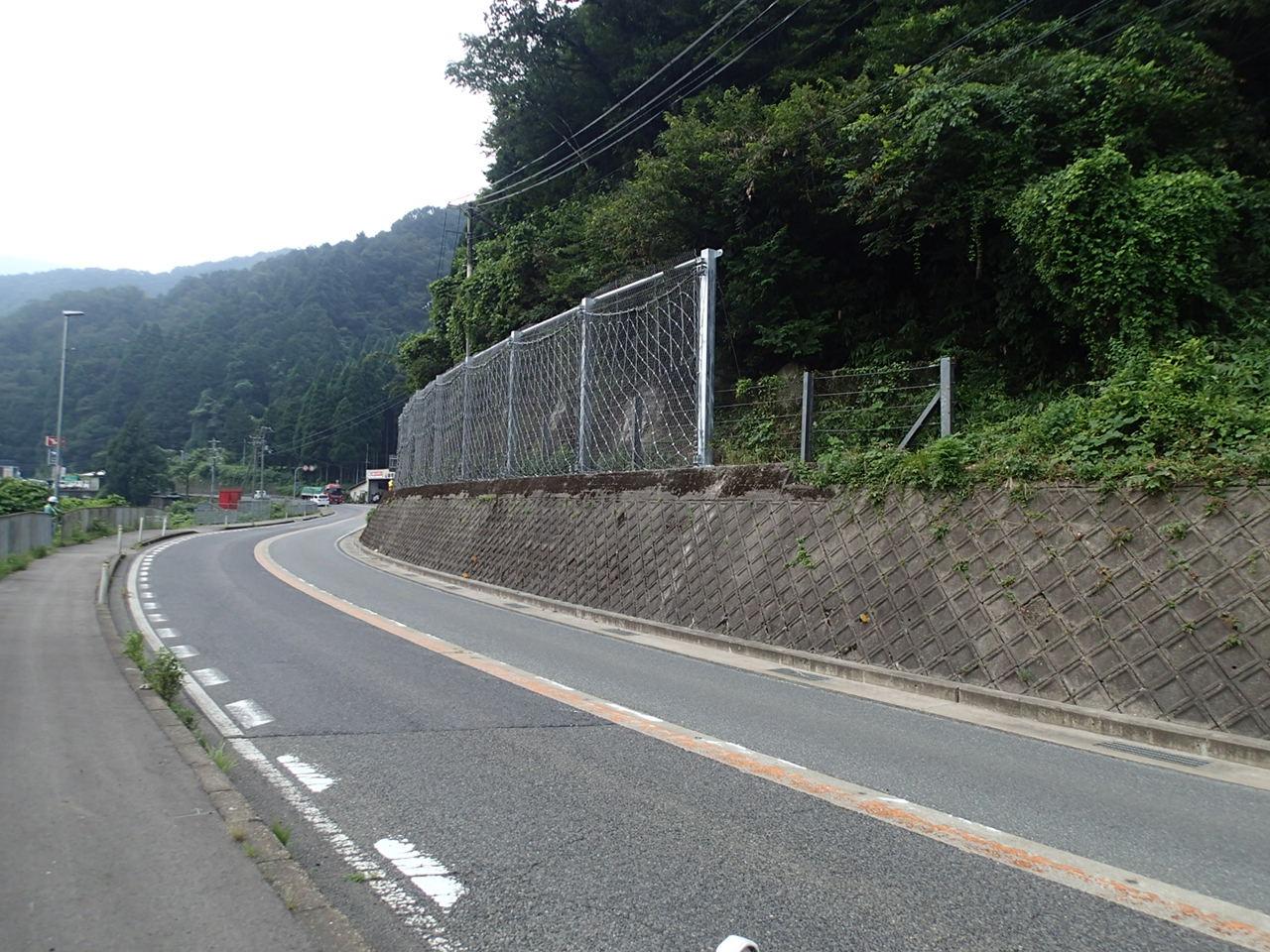 国道9号防災対策工事