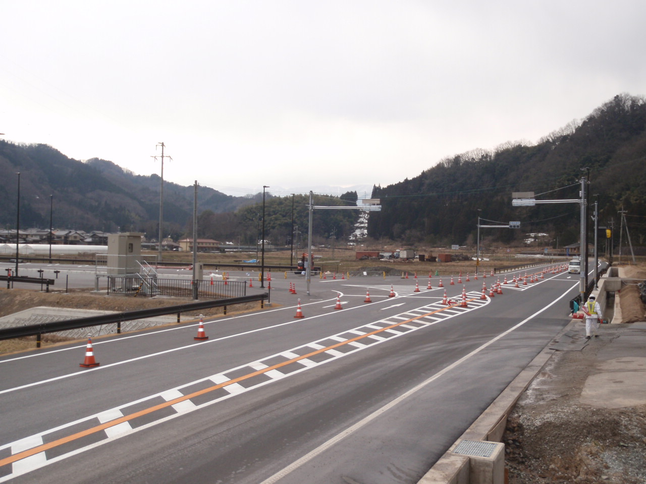 北近畿豊岡自動車道改良工事